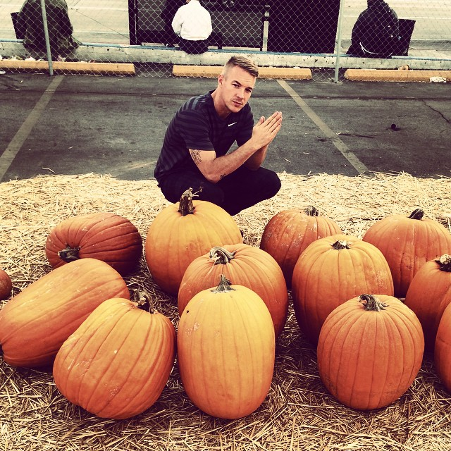 Trappin at the pumpkin patch 🎃