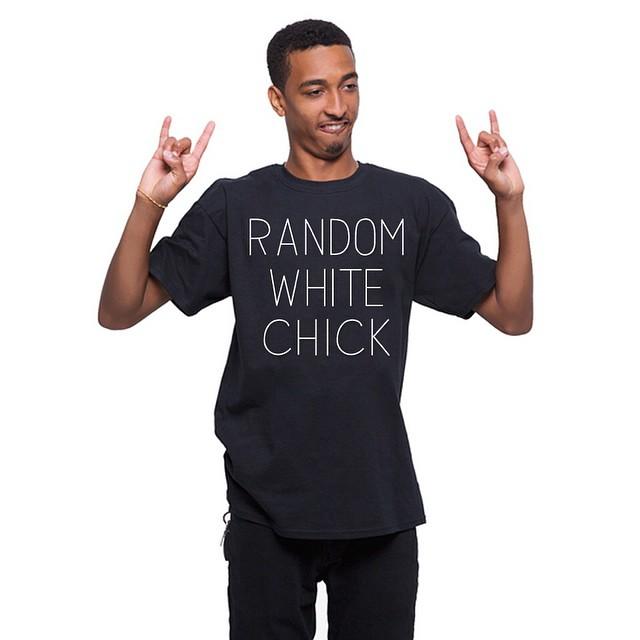 Just put up a bunch of random tees at RandomWhiteDude.com .. #werandom